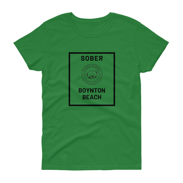 Sober Boynton Beach Women's t-shirt