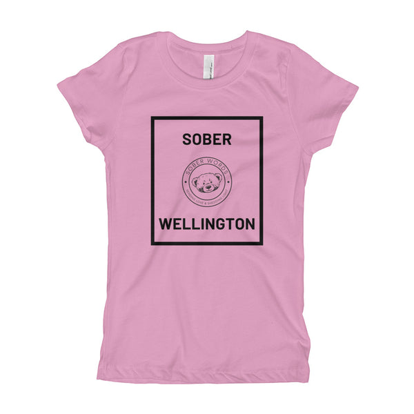 Sober Wellington Girl's T-Shirt
