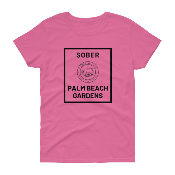 Sober Palm Beach Gardens Women's t-shirt