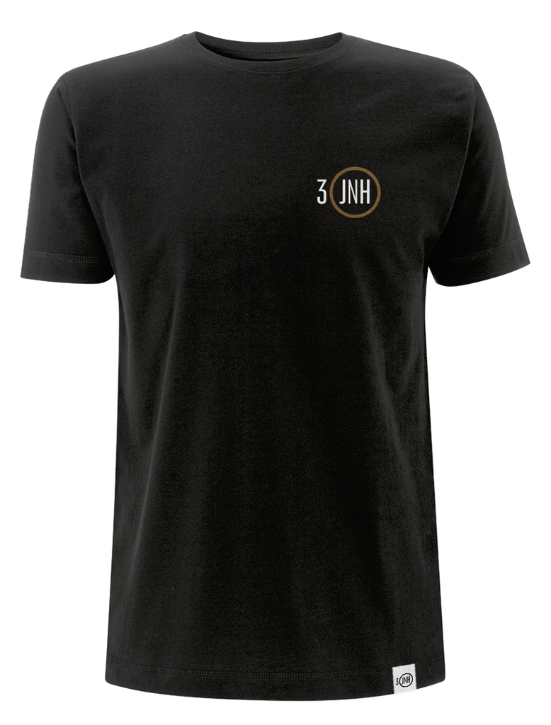 '30 JNH' Men's Black T-Shirt