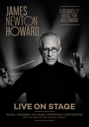 James Newton Howard London Royal Albert Hall Programme (November 2017)