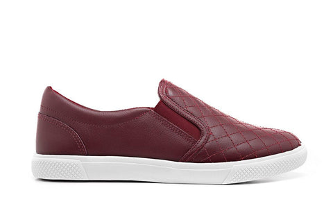 Slip on Bordô