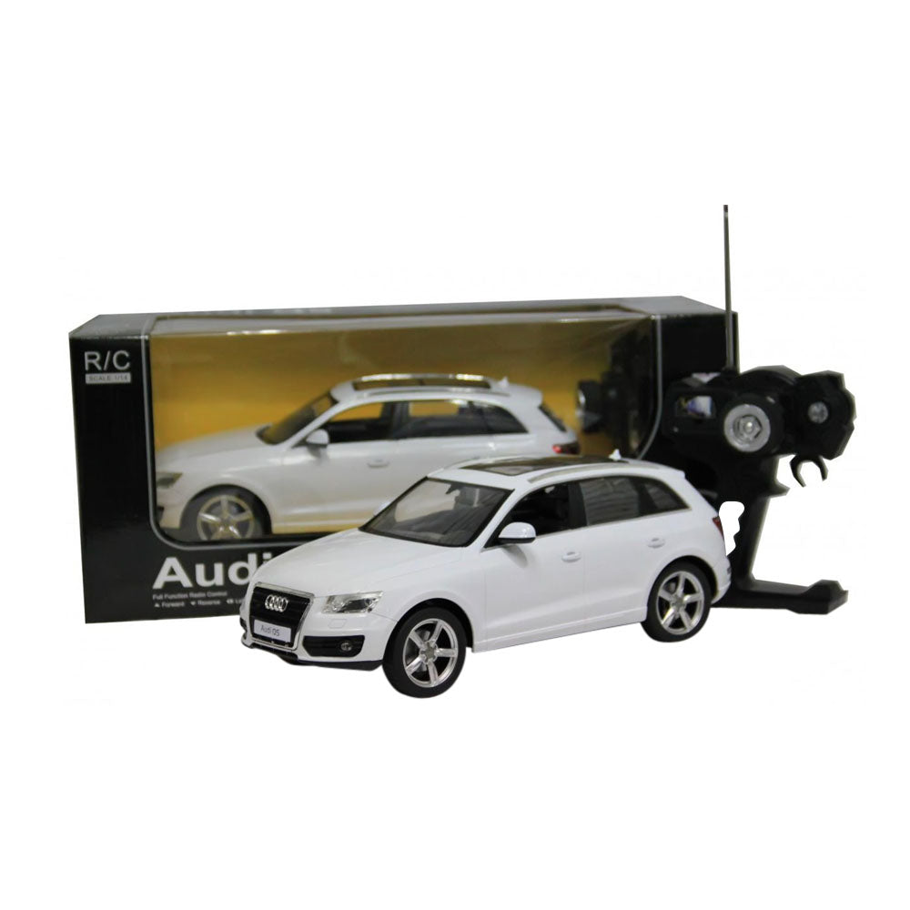 Audi Q Wireless RC Electric Toy Car Vehicle Beautiful RASTAR White - Audi electric toy car