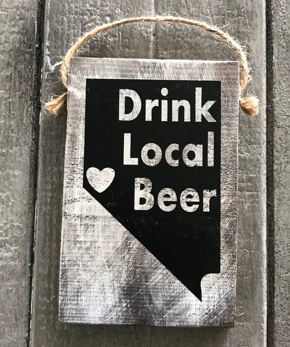 Drink Local Beer Nevada Reno