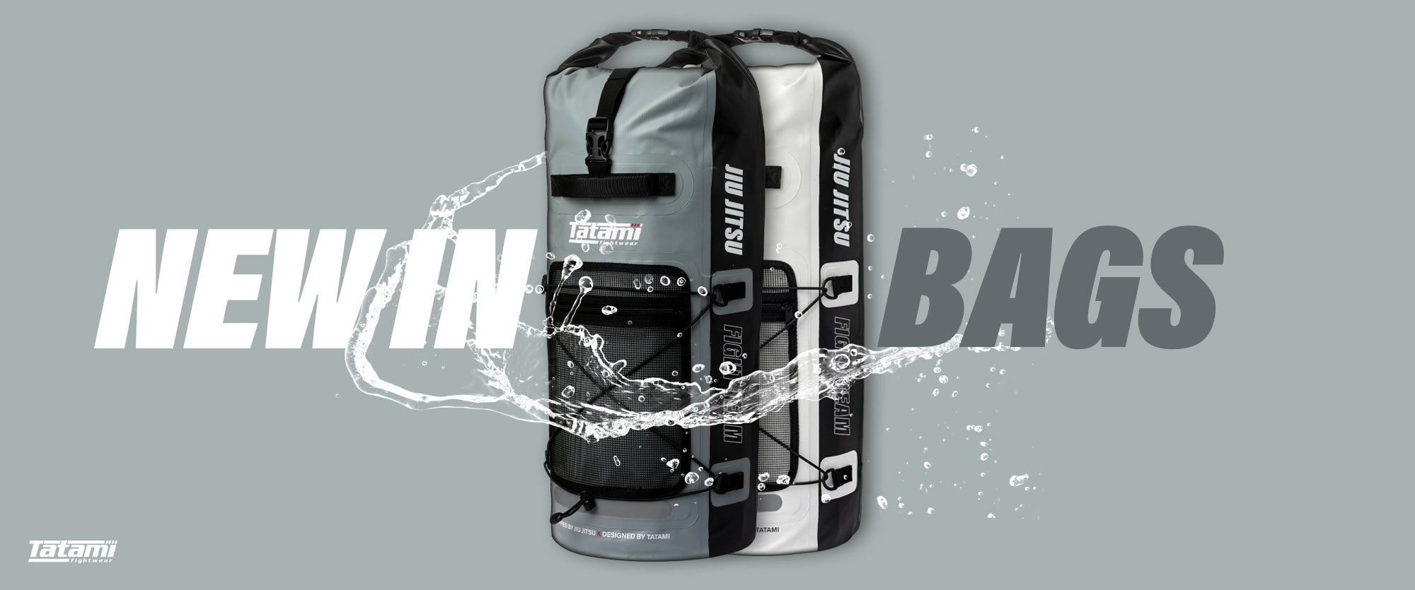 New In Jiu Jitsu Gear Bag - Drytech