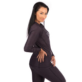 Ladies Shadow Long Sleeve Rash Guard