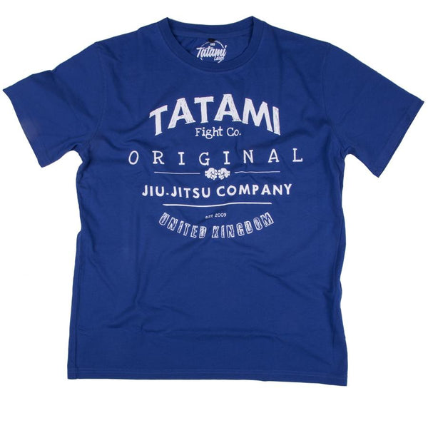 Tatami Washed Ink Blue Fight Co T-Shirt