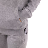Ladies Shadow Tracksuit (Hoodie and Joggers) - Grey
