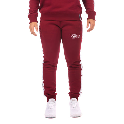 Ladies Autograph Joggers - Burgundy