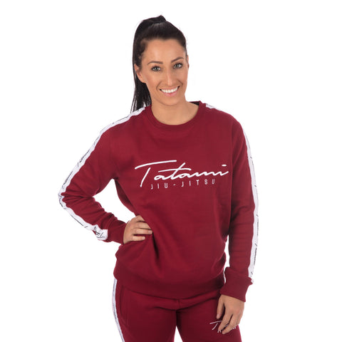 Ladies Autograph Sweatshirt - Burgundy