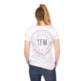 Ladies Iconic T-Shirt - White