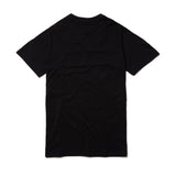 Red Bar Short Sleeve T-Shirt - Black