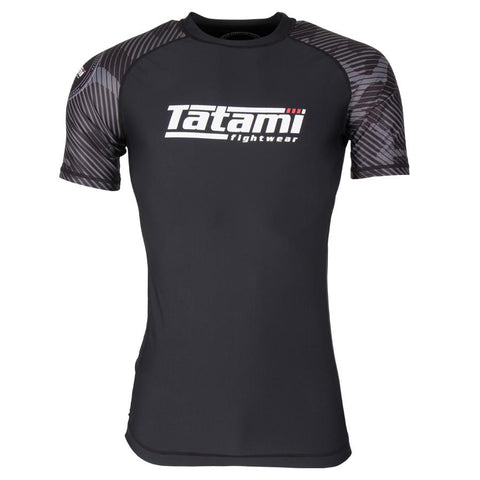Renegade Grey Camo Short Sleeve Rash Guard