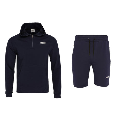 Absolute Tracksuit (Hoodie and shorts) - Navy