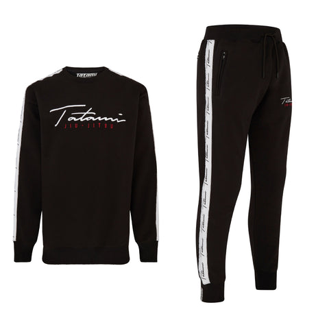 Autograph Tracksuit (sweater and Joggers) - Black