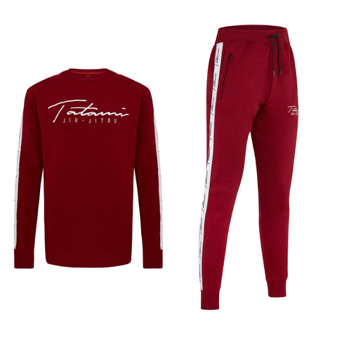 Autograph Tracksuit (sweater and Joggers) - Burgundy
