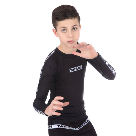 Kids Dweller Long Sleeve Rash Guard