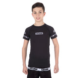 Kids Dweller Short Sleeve Rash Guard