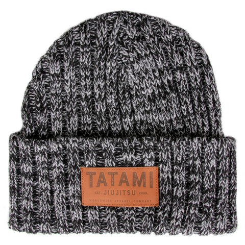 Folded Beanie Hat - Dark Grey