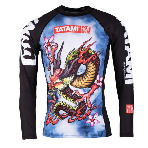 Oriental Dragon Rash Guard