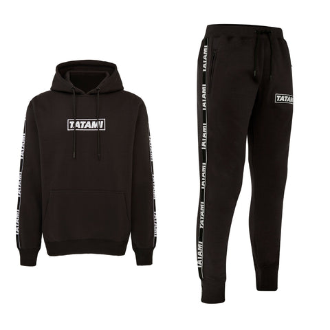 Dweller Tracksuit (Hoodie and Joggers) - Black