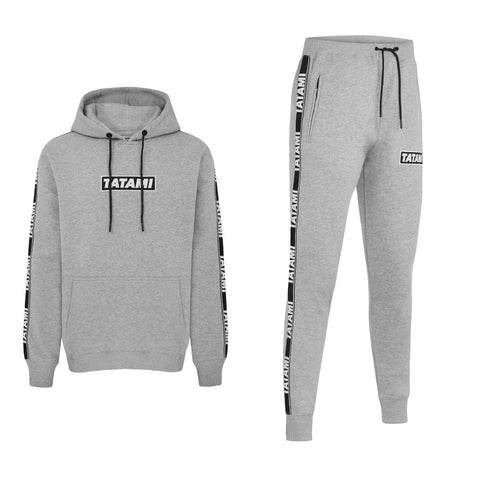 Dweller Tracksuit (Hoodie and Joggers) - Grey