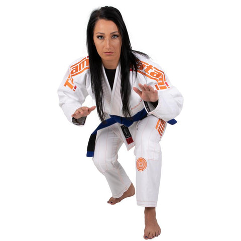 LADIES ESTILO 6.0 WHITE & ORANGE