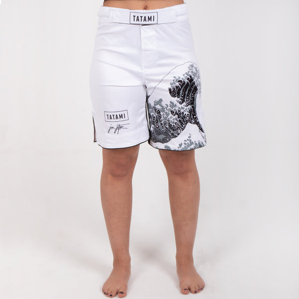 Ladies Kanagawa Shorts - White