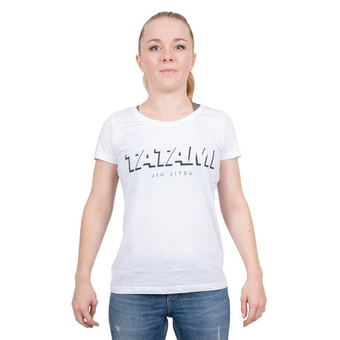 Ladies Shadow T-Shirt - White