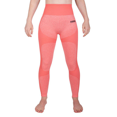 Ladies Fitnesss Leggings - Coral
