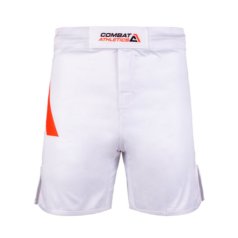 Combat Athletics Micro Advanced MMA White Shorts