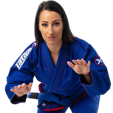 Ladies Model X Jiu Jitsu Gi - Blue