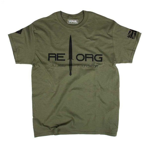 REORG x RvN Tactical Green T-Shirt