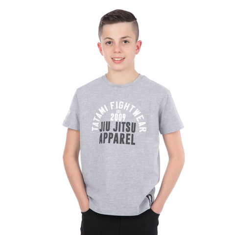 Kids Retro T-Shirt Grey