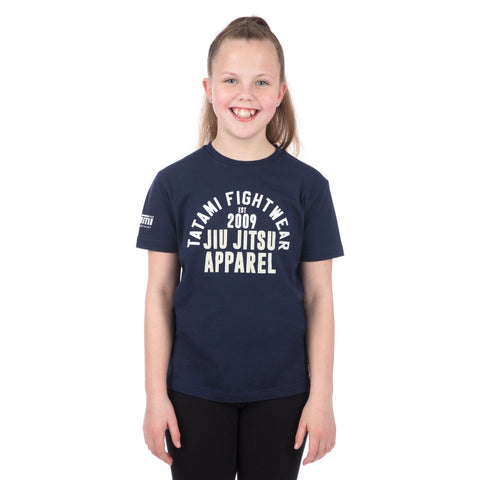 Kids Retro T-Shirt Navy