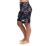 Ladies Rival Black & Camo Grappling Shorts