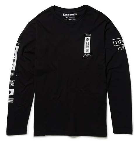 Signature Long Sleeve T-Shirt - Black