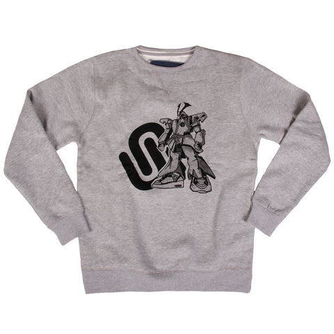 Tatami x Unorthodox Nutrition Mech Grey Sweat
