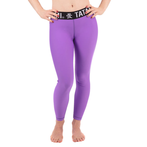 Ladies Purple Minimal Spats
