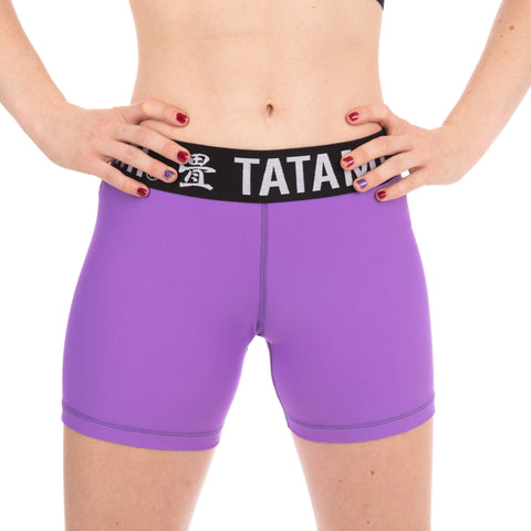 Ladies Purple Minimal VT Shorts