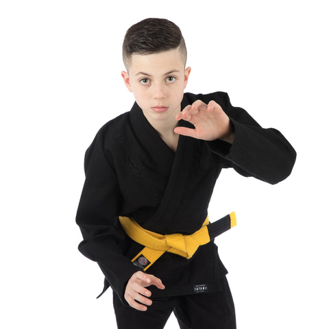Kids Stealth Gi - Black