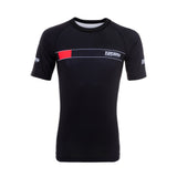 IBJJF 2020 Ranked Short Sleeve Rash Guard - Black