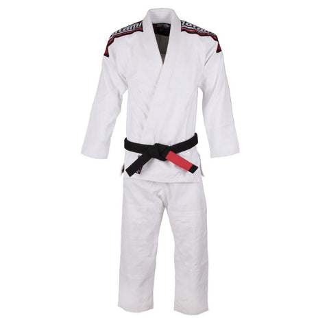 Kids Nova BJJ Gi Mk4 White - Inc FREE White Belt
