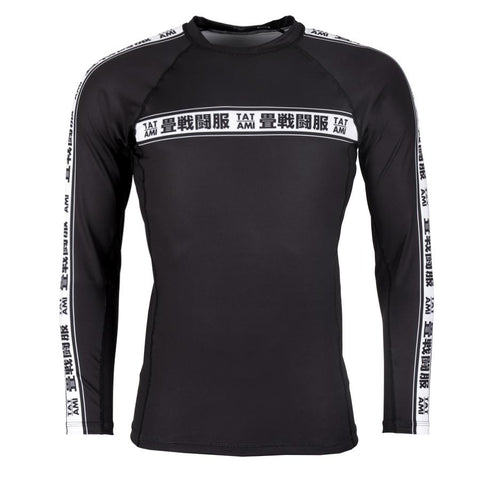 Worldwide Jiu Jitsu Long Sleeve Rash Guard