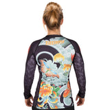 Japan Series - Ladies Butterfly Rash Guard