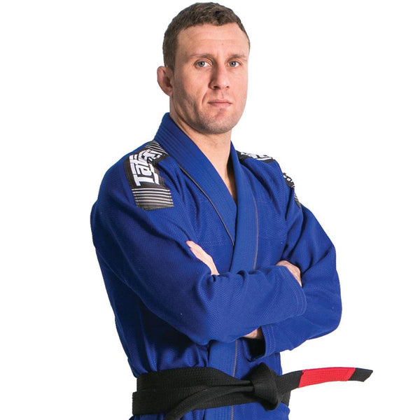 Nova + Plus BJJ Gi - Blue - Free White Belt