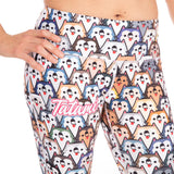 Ladies Husky Dog Leggings