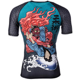 Devils Triangle S/S Rash Guard