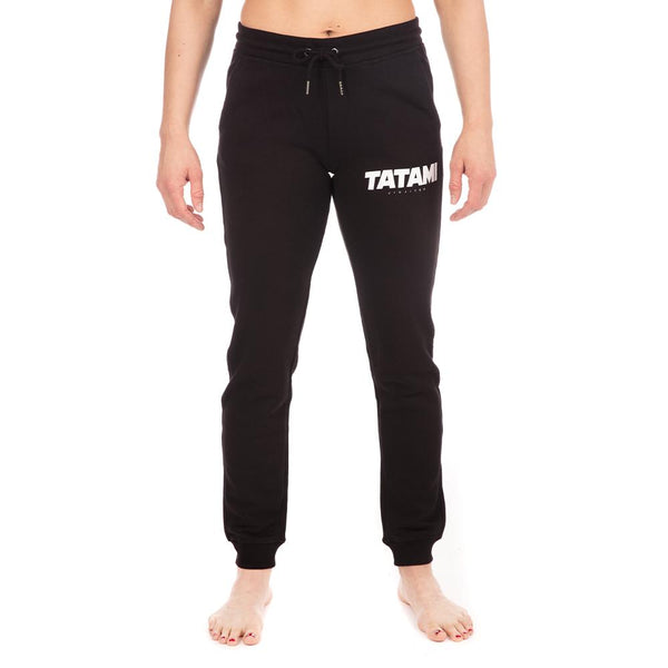 Ladies Essential Track Pants - Black