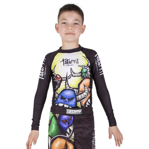 Kids Monsters Rash Guard